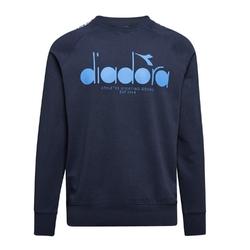 Bluza męska diadora sweatshirt crew 5palle offside - granatowy