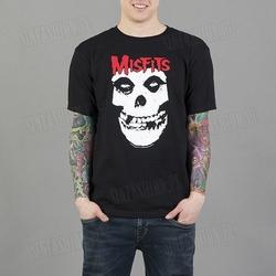 Koszulka rockoff - misfits red skull