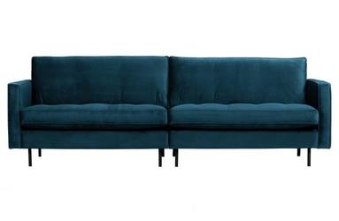 Be pure klasyczna sofa rodeo 3-osobowa niebieski 800576-45