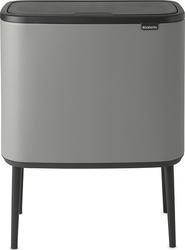 Kosz na śmieci bo touch bin 36 l mineral concrete grey