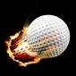 Fotoboard na płycie piłeczki do golfa