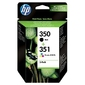 Hp combo pack tusz 350 + 351 sd412ee