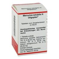 Mercurius solub. n oligoplex tabl.