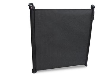 Lionelo tulia czarna składana barierka zabezpieczająca do 140 cm