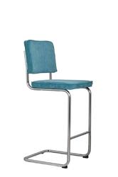 Zuiver :: stołek ridge niebieski