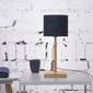 Goodmojo :: lampa stołowa fuji, abażur w kolorze czarnym