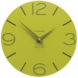 Zegar ścienny Smile CalleaDesign cedrowy-zielony 10-005-51