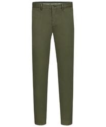 Męskie zielone spodnie typu chino  3134