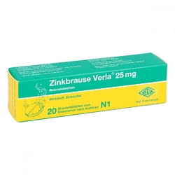 Zinkbrause verla 25 mg brausetabl.