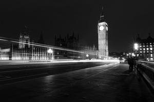 Fototapeta na ścianę londyn ciemą nocą fp 2237