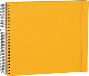 Album na zdjęcia Uni Maxi Mucho czarne karty żółty