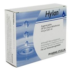 Hylan 0,65 ml augentr.