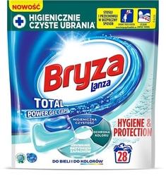 Bryza hygiene  protection gel caps, kapsułki do prania do bieli i kolorów, 28 sztuk
