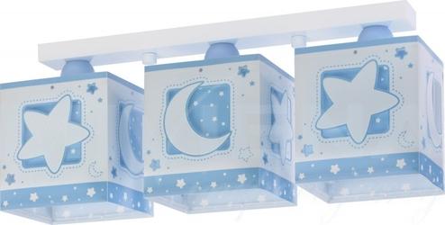 Moonlight - księżyc lampa wisząca 3 niebieski