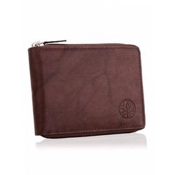 Skórzany portfel betlewski bpm-gtan-75 brązowy