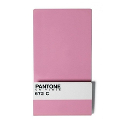 Półka na magazyny i listy Pantone Wallstore  pastelowy róż