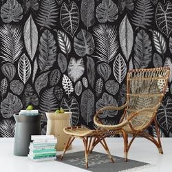 Tapeta na ścianę - leaves artistry , rodzaj - tapeta flizelinowa laminowana