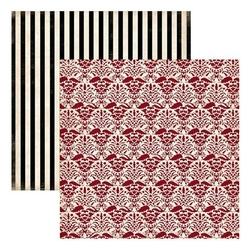 Papier 30,5x30,5 cm Well Traveled - old world dama - 03