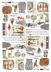 Papier ryżowy Calambour 33x48 cm wakacje