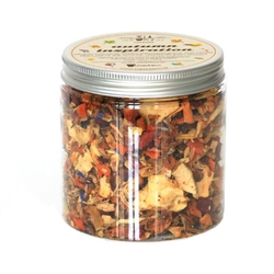 Herbata autumn inspiration o smaku rabarbarowym - jesienna mieszanka owocowa 150g