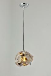 Lampa wisz�ca 80s chrom