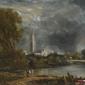 katedra w salisbury ii - john constable ; obraz - reprodukcja