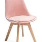 Krzesło fagio różowe