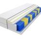 Materac kieszeniowy kolonia multipocket 70x185 cm średnio twardy visco memory dwustronny
