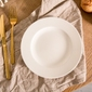 Talerz deserowy porcelana mariapaula ecru 20 cm