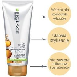 Biolage oil renew leave in olejek w kremie wygładzajacy do włosów suchych 200ml