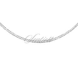 Pancerka diamentowana płaska pr. 925 ø 040 rodowana - 1,6 mm