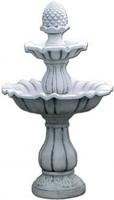 Vb fontanna ogrodowa betonowa dwupoziomowa szyszka 141cm