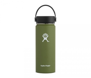 Kubek termos hydro flask wide mouth with flex cap 532 ml olive vsco