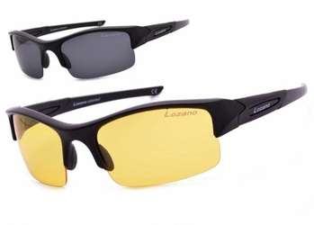 Okulary lozano dla kierowców rozjaśniające polaryzacyjne wymienne szkła lz-120a