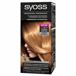 Syoss Color, farba do włosów, 8-7 miodowy blond