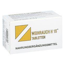 Weihrauch H15  tabletki