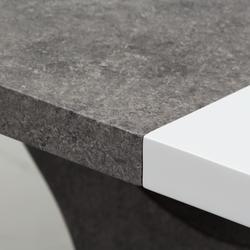 Stół rozkładany daymon 160-220x90 cm biały