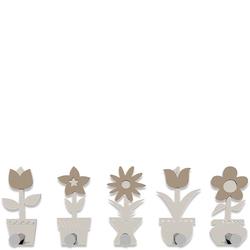 Wieszak ścienny Little Flowers CalleaDesign lniany 13-003-11