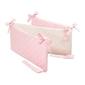 Ochraniacz do łóżeczka - lovely dots pink  beige