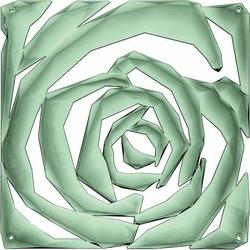 Panel dekoracyjny Romance 4 szt. zieleń eukaliptusowa