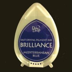 Tusz Brilliance Dew Drop - Mediterranean Blue - NIECIE