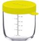NEON szklany słoiczek do żywności 250 ml