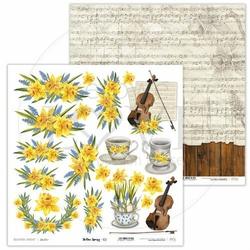 Papier do scrapbookingu Yellow Spring 30,5x30,5 cm - 02 - 02
