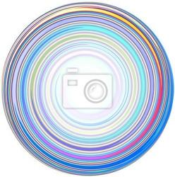 Naklejka ilustracja abstrakcyjna mandala