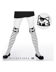Rajstopy mifrofibra 3d kitty 50 den