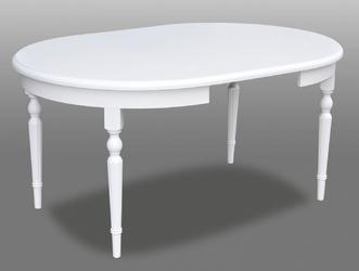 Okrągły rozkładany stół pamela  110-210 cm