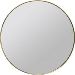 Kare design :: lustro curve brass śr. 80