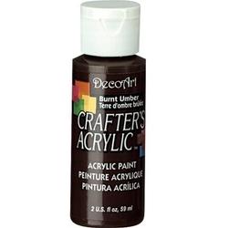 Farba akrylowa Crafters Acrylic 59 ml - umbra palona - PAM