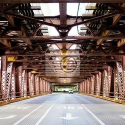 Fototapeta miasto most
