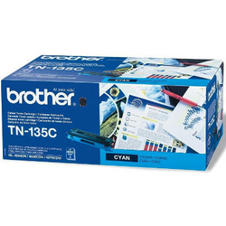 Toner Oryginalny Brother TN-135C TN135C Błękitny - DARMOWA DOSTAWA w 24h